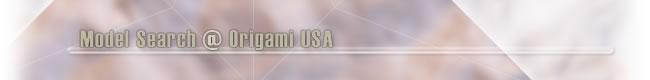Model Search @ Origami USA